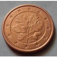2 евроцента, Германия 2004 D, AU