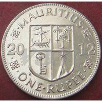 5873:  1 рупия 2012 Маврикий