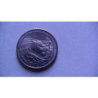 США 25 центов 2014г SHENANDOAH (P)  распродажа