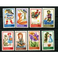 Польша - 1968 - Сказки - [Mi. 1828-1835] - полная серия - 8 марок. MNH.