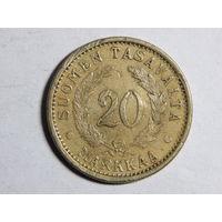 Финляндия 20 марок 1937г