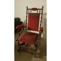 Кресло качалка конец 19 века