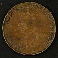Британский Гонконг 1 цент 1925