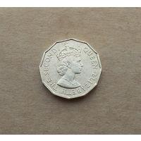 Британские Сейшельские острова, 10 центов 1971 г.