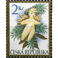 Чехия 1994 Рождество Ангел Серия 1 м гаш