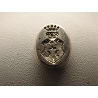 Щиток от перстня (сыгнета) герб - Остоя. Серебро.