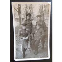 Фото военное, комендатура, Берлин, 1945 г.