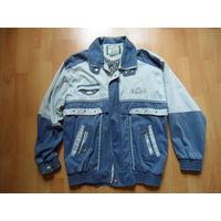 Куртка джинсовая мужская (примерно 52-54 р-р)