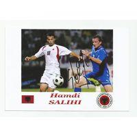 Hamdi Salihi(Албания). Живой автограф на фотографии.