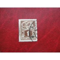 Марка стандарт 1 марка 1922 год Эстония