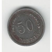 Финляндия 50 пенни 1944 года. Железо
