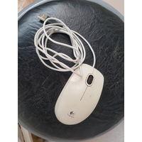 Старая usb мышь logitrch b110, работает.