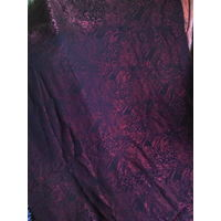 Ткань костюмно-плательная бордовая
