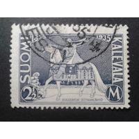 Финляндия 1935 нац. эпос Калевала