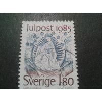 Швеция 1985 Рождество