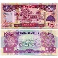 Сомалиленд. 1000 шиллингов (образца 2011 года, P20, UNC)