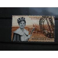 Марка - Гаити, транспорт, фауна