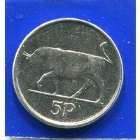 Ирландия 5 пенсов 1993