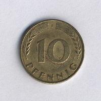 Федеративная Республика Германия, 10 пфеннигов 1969 г.
