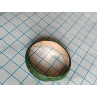 Кольцо с позолотой изнутри. 2.