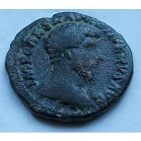 Римская империя, Луций Вер, 161-169 гг., асс.
