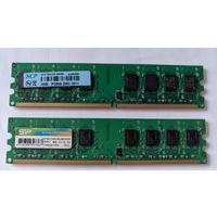 DIMM DDR2 PC2-6400 2x 2Gb планки памяти
