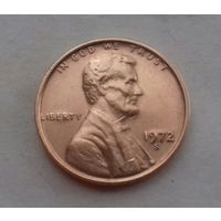 1 цент США 1972 S