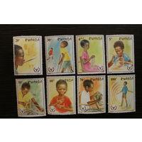 Руанда. 1981. Красный Крест. Дети
