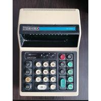 Калькулятор Toshiba, в ремонт