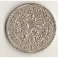 20 центов 1964 г.