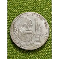 ФРГ  10 марок 1988 г ( 100 лет со дня смерти Карла Фридриха Цейса )