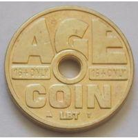 Голандский жетон для табачных автоматов