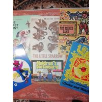 6 детских книжек на английском языке одним лотом