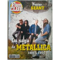 Плакат постер брошюра Metallica Металлика