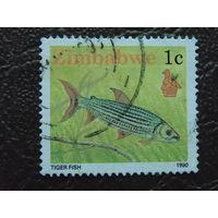 Зимбабве 1990г. Морская фауна.