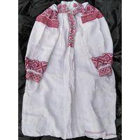 Сорочка домотканая льняная (рубашка, вышиванка), н. 20-го в.