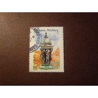 Франция 2001 г.Франция-Марокко культурное наследия.Фонтан Уоллеса.