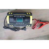 Foxur импульсное зарядное 12-24 в. аккумуляторных батарей авто, agm, мото. Состояние как новое, использовал один раз для восстановления батареи. Функции - для больших батарей 12В max 8А, 24В max 4А, з