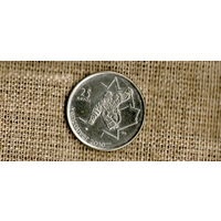 Канада 25 центов 2009 с шайбой //(Ок)