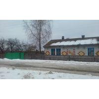 Кирпичный дом 98м д.Вязовница 21 км от Осипович 15 соток ,баня дерево, газ по улице, вода в доме, сарай кирпич .