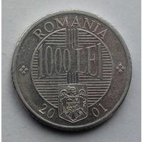 Румыния 1000 леев. 2001