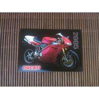 Карманный календарик.Мотоцикл.2005 год