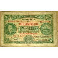 Порт. Мозамбик 1 эскудо 1941г. -редкая-