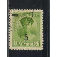 Люксембург 1925 Шарлотта Надп Стандарт #156