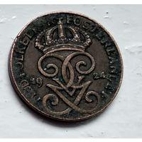 Швеция 1 эре, 1924 4-4-41