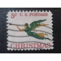 США 1965 Рождество, ангел