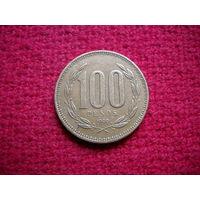 Чили 100 песо 1999 г.