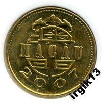 Макао 10 авос 2007 UNC