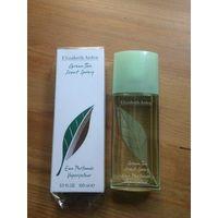 Парфюмированная вода от Elizabeth Arden аромат Green Teа 100 мл. Экзотический свежий аромат. Красивый, шлейфовый, чарующий. Великолепно подойдет для лета. Б/у недолго и немного.