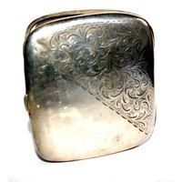 Портсигар (Стерлинговое серебро, Великобритания 1903 г., Бирмингем)